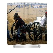 Union Canonniers Shower Curtain