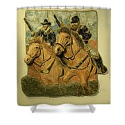 Union Cavalry Shower Curtain