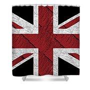 Union Jack Flag Deco Swing Shower Curtain