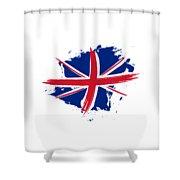 Union Jack - Flag Of The United Kingdom Shower Curtain