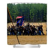 Union On The Move Shower Curtain