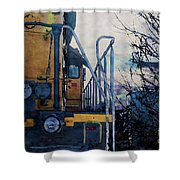 Union Pacific 1474 Shower Curtain