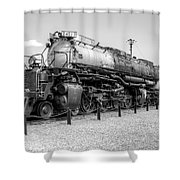 Union Pacific 4012 Shower Curtain