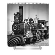 Union Pacific No. 119 Shower Curtain