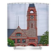 Union Pacific Railroad Depot Cheyenne Wyoming 01 Shower Curtain