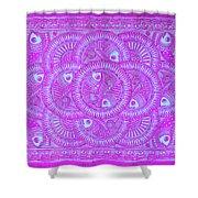 Union Purple Shower Curtain