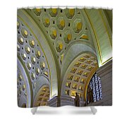 Union Station Ceiling Shower Curtain