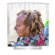 Unique Hair Shower Curtain