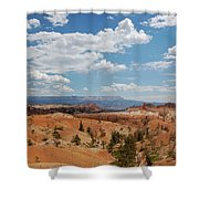 Unique Landscape Of Bryce Canyon Shower Curtain