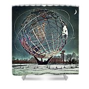 Unisphere Shower Curtain