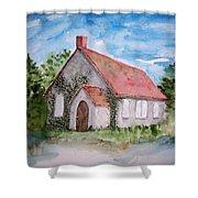 Unitarian Church Shower Curtain