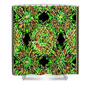 United Colors Abstract Shower Curtain