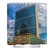 United Nations Headquarters Shower Curtain