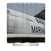 United State Marines Shower Curtain