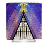 United States Air Force Academy Cadet Chapel 3 Shower Curtain