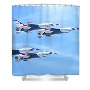 United States Air Force Shower Curtain