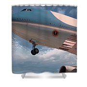 United States Air Force One Shower Curtain