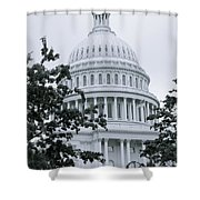 United States Capital Shower Curtain