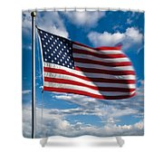 United States Of America Shower Curtain by Steve Gadomski