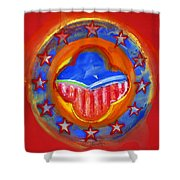 United States Of Europe Shower Curtain