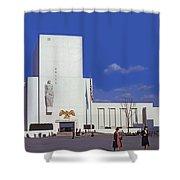 United States Pavilion R Shower Curtain