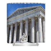 United States Supreme Court Building Shower Curtain