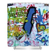 United We Are Strong Shower Curtain