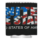 United We Stand Shower Curtain