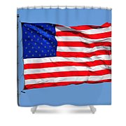 United We Stand United We Fall Shower Curtain