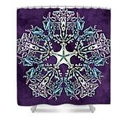 Unity Star Shower Curtain