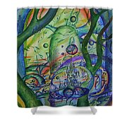 Universal Forest. Shower Curtain