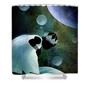Universal Look Shower Curtain