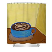 Universal Mocha Shower Curtain