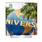 Universal Studio Globe Shower Curtain