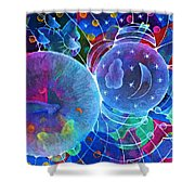 Universal Transect Shower Curtain