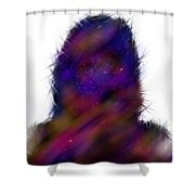Universe Body Shower Curtain