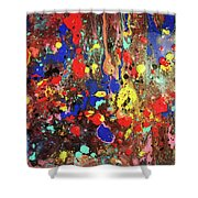 Universe Spaces Splash Shower Curtain