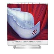 University Of Alabama School Of Nursing Shower Curtain by Marlyn Boyd