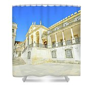 University Of Coimbra Shower Curtain