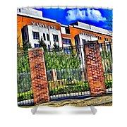 University Of Maryland - Byrd Stadium Shower Curtain