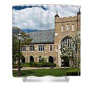 University Of Notre Dame Law School Shower Curtain