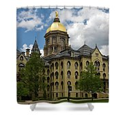 University Of Notre Dame Main Building 1879 Shower Curtain