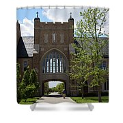 University Of Notre Dame Shower Curtain