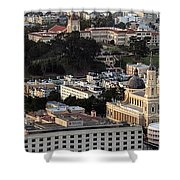 University Of San Francisco Aerial Photo Shower Curtain