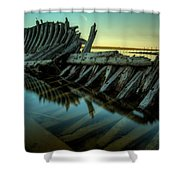 Unknown Shipwreck Shower Curtain
