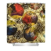 Unknown Space Shower Curtain by Sonya Wilson