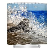 Unlimited Energy Shower Curtain