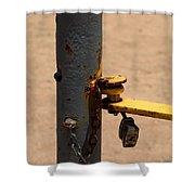 Unlock  Shower Curtain