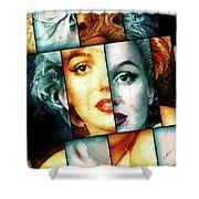 Monroe  Shower Curtain