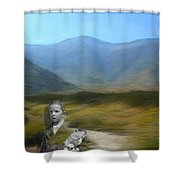 Unresolved Shower Curtain